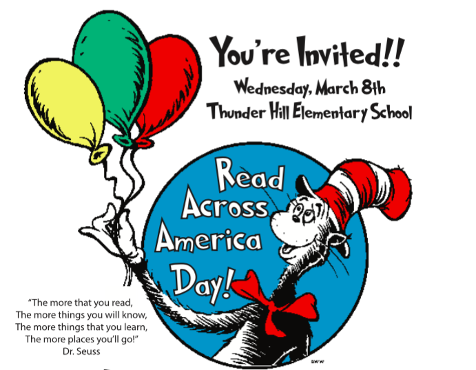 Read Across America Day image of Dr. Seuss